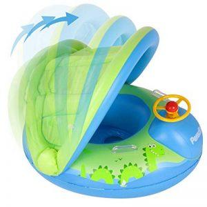 Peradix Bouée Siège Gonflable Piscine Gonflable Enfant Bébés 6 - 36 Mois Baignoire Piscine PVC Matériel (Bleu Vert) de la marque Peradix image 0 produit