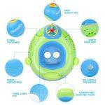 Peradix Bouée Siège Gonflable Piscine Gonflable Enfant Bébés 6 - 36 Mois Baignoire Piscine PVC Matériel (Bleu Vert) de la marque Peradix image 1 produit