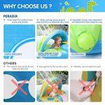 Peradix Bouée Siège Gonflable Piscine Gonflable Enfant Bébés 6 - 36 Mois Baignoire Piscine PVC Matériel (Bleu Vert) de la marque Peradix image 2 produit