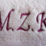 personnalisé Rose brodée 12–18mois bébé/enfant Chambre Cultivé Peignoir de bain (avant et arrière). Cadeau idéal. de la marque The-Personalised-Baby-Company image 3 produit