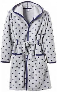 Petit Bateau - Robe de chambre - À étoiles - À capuche - Manches longues - Garçon de la marque Petit-Bateau image 0 produit