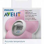 Philips Avent Thermomètre numérique pour le bain et la chambre en forme de fleur Rose de la marque Philips-AVENT image 1 produit