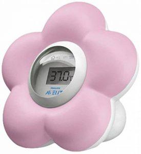 Philips Avent Thermometre numérique bain et chambre - Coloris aléatoire de la marque Philips image 0 produit