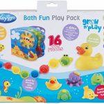 Playgro Jouets de Bain, 16 Pièces, À partir de 6 Mois, Sans BPA, Playgro Coffret Cadeau Jouets de Bain, 40115 de la marque Playgro image 1 produit