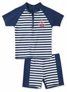 Playshoes - Maillot de bain boxer Garçon - Boy's Swim Shirt and Swim Shorts de la marque Playshoes image 0 produit