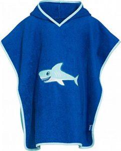 Playshoes - Peignoir Garçon - Terry Poncho, Hooded Towel Shark de la marque Playshoes image 0 produit