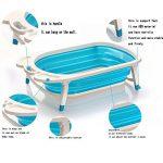 Pliable pour bain de bébé Baignoire–Léger et robuste Idéal pour un rangement facile par Babyhugs de la marque BabyHugs image 1 produit