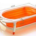 Pliable pour bain de bébé Baignoire–Léger et robuste Idéal pour un rangement facile par Babyhugs de la marque BabyHugs image 2 produit