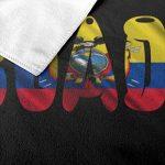 Poikl Serviettes de Plage Drapeau de l'Équateur Fier Serviettes de Bain pour Les Adolescentes Adultes Serviette de Voyage Gant de Toilette 31x51 Pouces de la marque Poikl image 3 produit