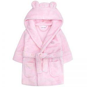 Polaire à capuche Robe de chambre Peignoir de bain Doux Pour petite fille de la marque Lora-Dora image 0 produit