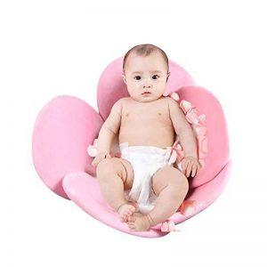 Politice Coussin de Tapis de Bain bébé Fleur, Coussin de pétale de Bain pour Nouveau-né, Coussin de Bain bébé de la marque Politice image 0 produit