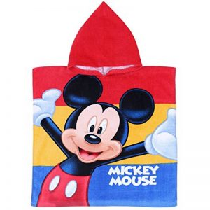 Poncho a Capuche - Cape de Bain MICKEY DISNEY 55x110cm Coton NEUF de la marque Disney image 0 produit