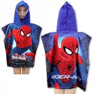 Poncho a capuche/cape de bain SPIDER-MAN * 55X110 CM * NEUF * de la marque Spiderman image 0 produit