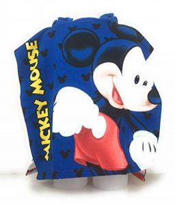Poncho de bain - Cape de Bain - microfibre 100% Polyester - 110x55 cm - Mickey Mouse - Disney de la marque Mickey-Mouse image 0 produit