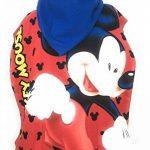 Poncho de bain - Cape de Bain - microfibre 100% Polyester - 110x55 cm - Mickey Mouse - Disney de la marque Mickey-Mouse image 1 produit