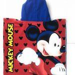 Poncho de bain - Cape de Bain - microfibre 100% Polyester - 110x55 cm - Mickey Mouse - Disney de la marque Mickey-Mouse image 3 produit