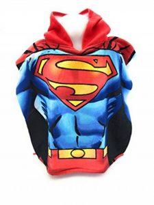 Poncho de bain - Cape de Bain - microfibre 100% Polyester - 110x55 cm - Superman - Dc Comics de la marque SUPERMAN DC COMICS image 0 produit