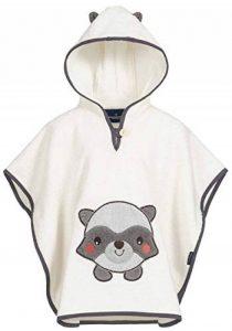 Poncho pour bébé et Enfant de 1-3 Ans 100% Coton Tissue éponge Taille Uniforme Serviette de Bain avec Capuche de la marque Morgenstern image 0 produit
