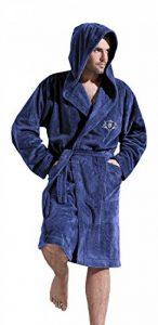 pour Hommes -Chaud et Doux Tissu Eponge Peignoir de Bain, Souple Robe de Chambre de la marque L-L-Company image 0 produit