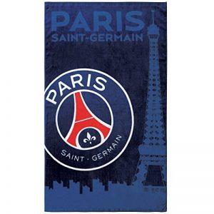 PSG Drap de Plage, Coton, Bleu, 120x70 cm de la marque PSG image 0 produit