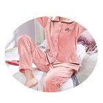 Pyjama Femme En Velours Corail À Manches Longues, Costume Ample Et Ample Automne/Hiver,Comme montré,XXXL de la marque WCZ image 1 produit