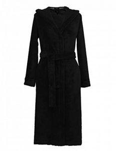 RAIKOU Peignoir Femme Polaire Chaud Long Flanelle Peignoir de Bain Robe de Chambre Épais Sauna Peignoir Super Moelleux et Doux de la marque RAIKOU image 0 produit