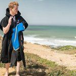 Renegade Poncho De Surf Pour Adultes. Serviette En Microfibre Épaisse Avec Capuche. de la marque Renegade image 2 produit