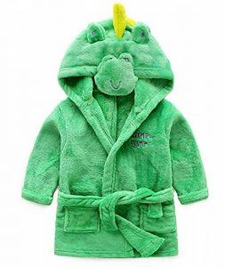 Robe de Chambre Animaux Enfant Mignon Peignoir avec Capuche de la marque SISAY image 0 produit
