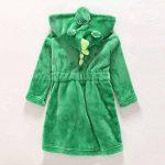 Robe de Chambre Animaux Enfant Mignon Peignoir avec Capuche de la marque SISAY image 1 produit