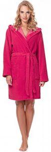Robe de Chambre avec Capuche Veste d'Intérieur Femme MSLL1004 de la marque Merry-Style image 0 produit