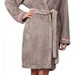 robe de chambre à capuche femme TOP 1 image 3 produit