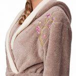 Robe de Chambre à Capuche Veste d'Intérieur Femme LL0030 de la marque LL image 4 produit