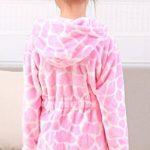 Robe de Chambre en Flanelle Bébé Garçon Fille Automne Hiver Peignoir de Bain avec Capuche Animal Vêtement de Nuit Enfant Cartoon Mignon Pyjama 2-5 ans 6 Styles de la marque KRAFBEAN image 1 produit