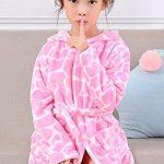 Robe de Chambre en Flanelle Bébé Garçon Fille Automne Hiver Peignoir de Bain avec Capuche Animal Vêtement de Nuit Enfant Cartoon Mignon Pyjama 2-5 ans 6 Styles de la marque KRAFBEAN image 4 produit