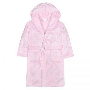 Robe de Chambre en Molleton Flocons/Paillettes en Argent pour Fille de la marque Minikidz++4Kidz image 0 produit