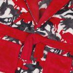 Robe de Chambre en Molleton imprimée Camouflage Dinosaure pour Enfant de la marque Minikidz image 1 produit