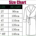 robe de chambre enfant fille TOP 12 image 2 produit