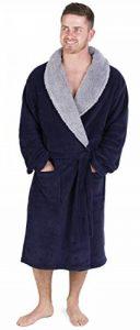 Robe de Chambre Homme à Capuche en Molleton Super Doux de la marque CityComfort image 0 produit