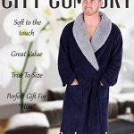 Robe de Chambre Homme à Capuche en Molleton Super Doux de la marque CityComfort image 1 produit