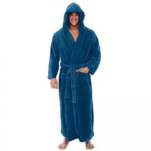 ☯ Robe de Chambre Homme à Capuche Peignoirs de Bain Grande différentes Tailles et Couleurs de la marque iYmitz image 0 produit