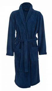 Robe de chambre luxueuse en polaire - Marine - Homme de la marque John-Christian image 0 produit