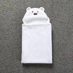 Robe de Chambre Polaire Enfant Peignoir Sortie de Bain à Capuche Animaux pour Bébé Cape de Bain Flanelle Microfibre de la marque Feelme image 3 produit