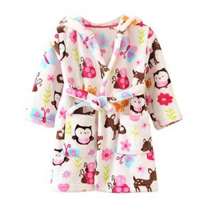 robe de chambre polaire enfant TOP 4 image 0 produit