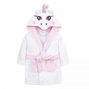 Robe de Chambre pour bébé avec nouveauté Licorne Capuche de la marque BTown image 0 produit