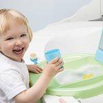 Rotho Babydesign Kiddy Wash Lavabo à Suspendre sur la Baignoire Blanc/Silver Grey/Taupe de la marque Rothobabydesign image 3 produit