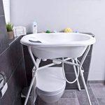 Rotho Babydesign TOP Baignoire avec Tapis Antidérapant et Bouchon de Vidange, 0-12 mois, TOP, Blanc, 200010001 de la marque Rothobabydesign image 3 produit