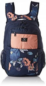 Roxy Here You are Fitness Sac à Dos Moyen Femme, Dress Blues Full Flowers Fit, FR Unique (Taille Fabricant : 1 Size) de la marque Roxy image 0 produit
