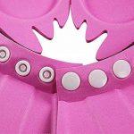 Safe Shampooing Baby Bonnet De Bain Protection De Bain Capuchon Doux Casquettes Oreillettes Cap Wash Bouclier Pour Bébé Enfants Enfants pour garder l'eau hors de leurs yeux de la marque huici image 4 produit