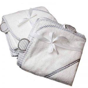 Serviette bébé Tout-petit bébé serviette bio doux capuche bambou Simmons parfait pour les jeunes enfants avec douche bébé cadeaux pour les garçons et les filles de la marque TOPFAY image 0 produit