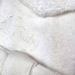 serviette brodée personnalisée bébé TOP 11 image 2 produit